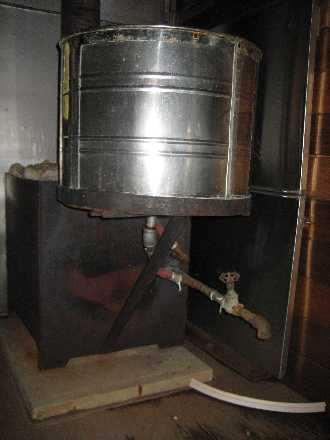 sauna free hot water plumbing